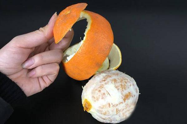 橙子怎么剥皮容易?