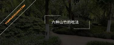 六种山竹的吃法