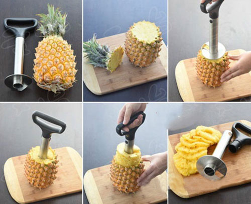 菠萝怎么削皮又不浪费?