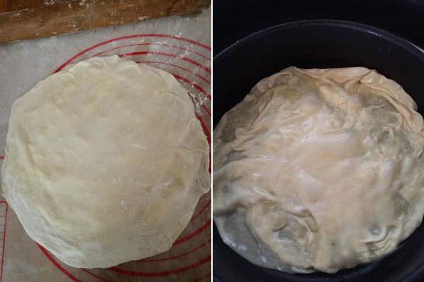 家常榴莲薄饼的做法和步骤窍门